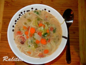 Healthy Veggie Soup recipe