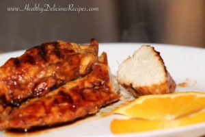 Steam-Grilled BBQ Chicken Breasts